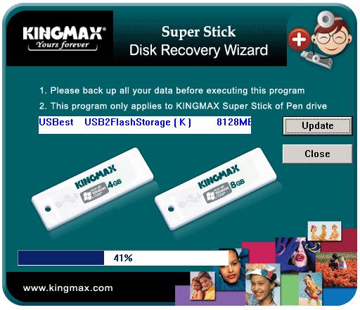 восстановление карты памяти kingmax 16gb